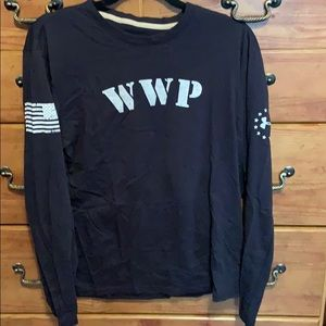 Men's wounded warrior project under armour shirt